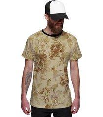 camiseta di nuevo floral masculina - masculino