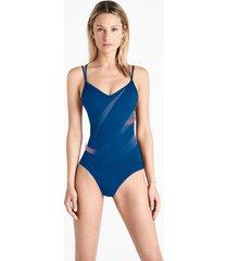 beachwear sail print forming beach body - 5669 - s