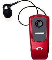audifonos bluetooth, f920 auriculares inalámbrico conductor audifonos bluetooth manos libres  headset llamadas recordar vibración desgaste clip deportes corriendo auricular para teléfono (rojo)