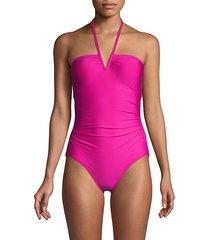 stretch 1-piece swimsuit