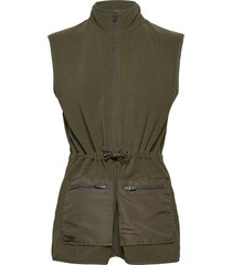 polar fleece vigga vests padded vests groen mads nørgaard