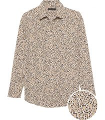 blusa dillon prints rosa banana republic