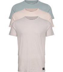 anf mens knits t-shirts short-sleeved rosa abercrombie & fitch