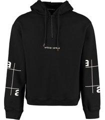 artica arbox logo cotton hoodie