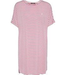 softness stripe big shirt dresses t-shirt dresses rosa missya