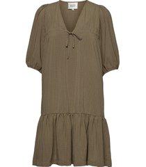 tara dress kort klänning brun second female