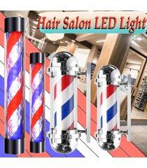 salon nos enchufe de 110v grande de pelo de luz led de poste del peluquero azul blanco rojo de rayas giratoria 70x23cm sesión - euro 220v