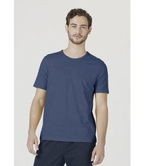 camiseta básica slim mangas curtas masculina - masculino