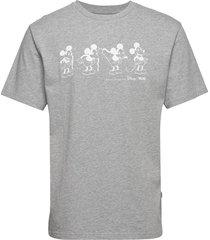 bobo t-shirt t-shirts short-sleeved grijs wood wood