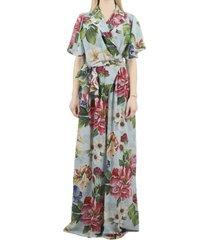 dolce & gabbana floral printed jumpsuit.