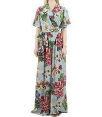 dolce & gabbana floral printed jumpsuit.