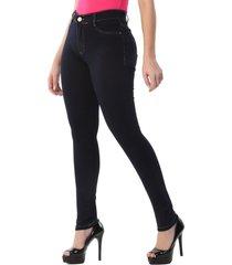 calça jeans sawary legging hot pants azul escuro