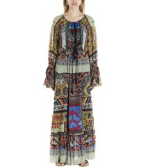 etro patch pochette dress