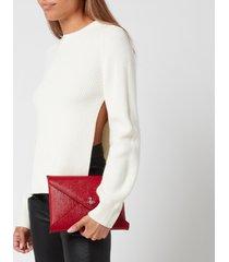 vivienne westwood women's bella pouch bag - red