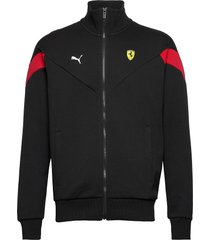 ferrari race mcs sweat jkt sweat-shirt trui zwart puma