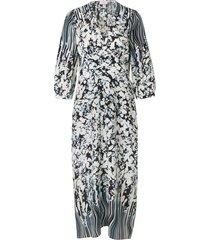blooming love silk dress
