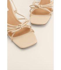 na-kd shoes hälrem sandaler - beige