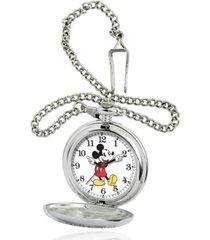 disney mickey mouse men's pocket watch