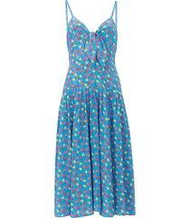 aqua field flower the adele dress