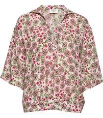 day fiore blouses short-sleeved roze day birger et mikkelsen
