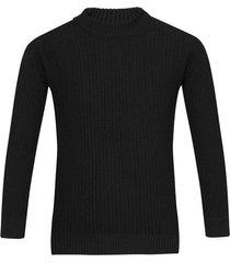 suéter cerrado cuello redondo unicolor para hombre freedom 00822