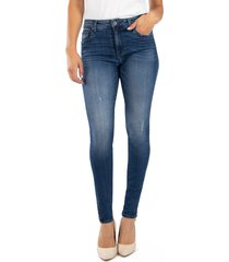 women's kut from the kloth donna high waist ankle skinny jeans