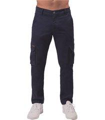 pantalon pmp slim azul oscuro cargo