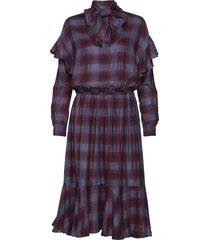iren jurk knielengte rood custommade
