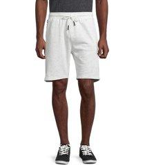 sovereign code men's official cotton-blend shorts - oatmeal heather - size xl