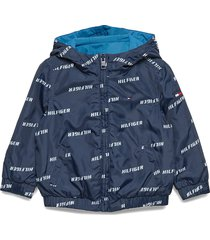 essential reversible outerwear softshells softshell jackets blauw tommy hilfiger