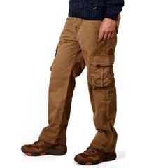 pantalon brahma hombre beige pan0030-car