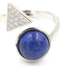 anillo mujer reiki lapislazuli bh20421