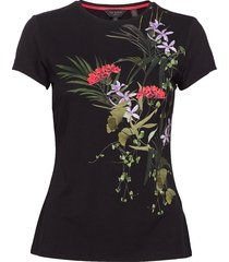 syrenti t-shirts & tops short-sleeved svart ted baker