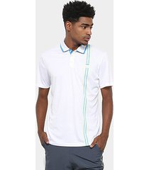 camisa polo fila aztec box stripe masculina
