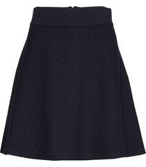 pauline knit skirt kort kjol blå morris lady
