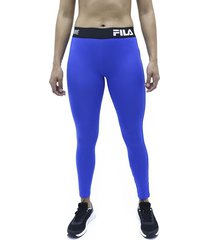 lycra azul fila pantalon