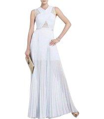 caia crystal pleated dress iqi6z035-126