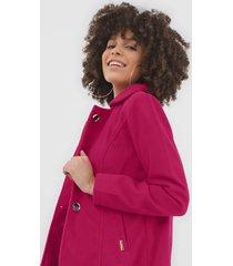 casaco queens paris botões pink