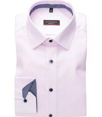 eterna overhemd modern fit roze geprint