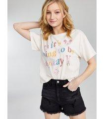 disney juniors' cotton going to be okay t-shirt