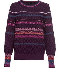 jacquard pullover, braam-patroon 36