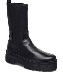 aya shoes chelsea boots svart pavement