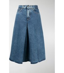 maison margiela wide-leg shorts