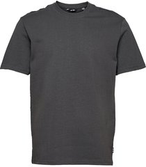 onsanel life reg ss tee t-shirts short-sleeved grå only & sons