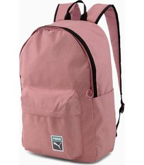 mochila rosa puma originals backpack retro