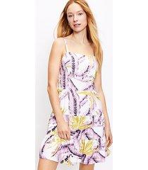 loft paradise tiered mini dress