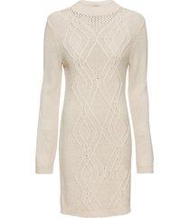 abito in maglia a trecce (beige) - bodyflirt boutique