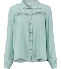 blouse fancy groen