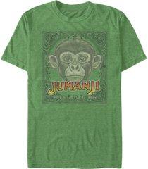 fifth sun men's monkey face short sleeve t- shirt