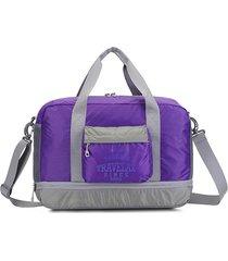 borsa a tracolla impermeabile nylon pieghevole del sacchetto di immagazzinaggio di viaggio